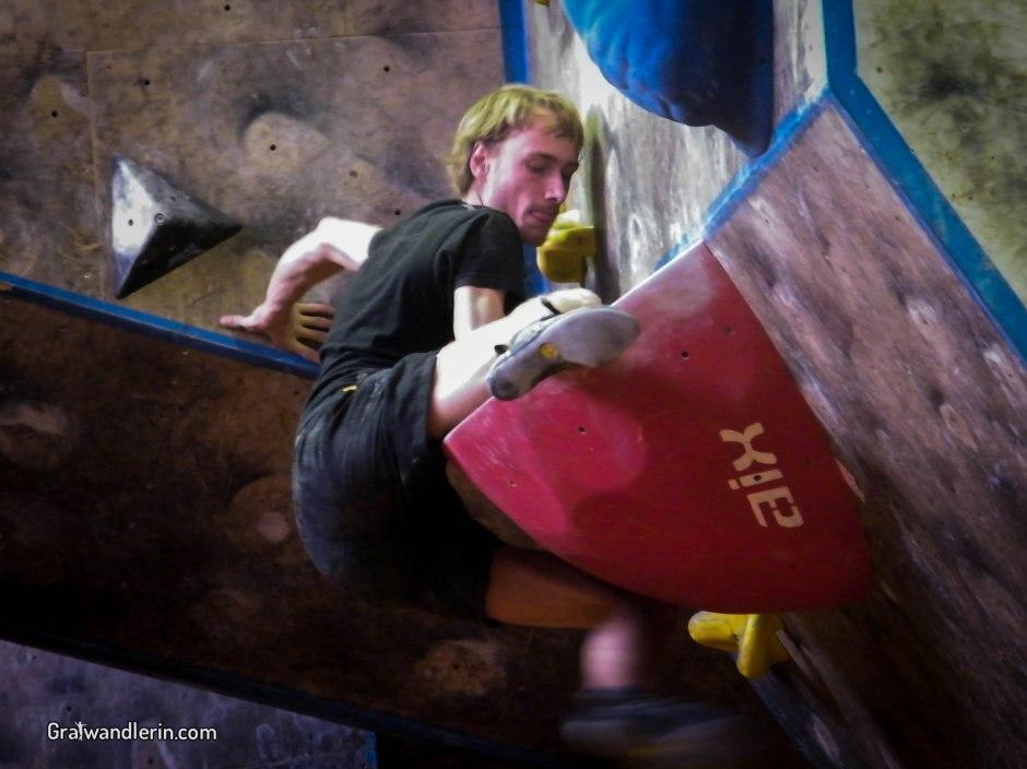 Auf der Suche nach dem Boulderkönig